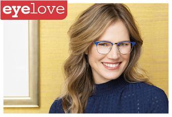 Eyelove brillen reclame folder (geldig t/m 16-02)