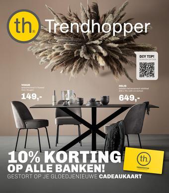 Trendhopper reclame folder (geldig t/m 31-01)