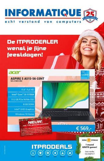 ITPRODEALS reclame folder (geldig t/m 17-01)