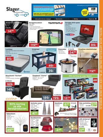 Slager Automaterialen reclame folder (geldig t/m 22-01)