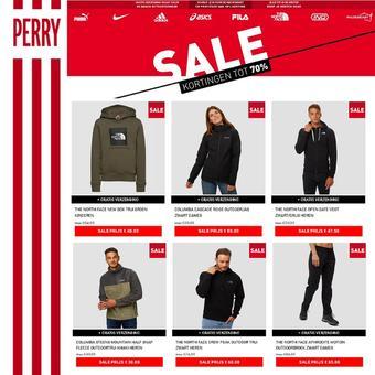 Perry Sport reclame folder (geldig t/m 24-01)