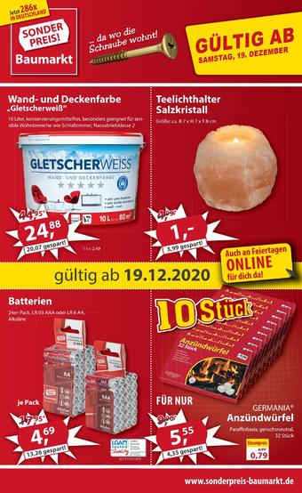 Sonderpreis Baumarkt Prospekt (bis einschl. 24-01)