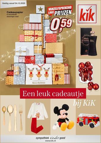 Kik reclame folder (geldig t/m 31-03)