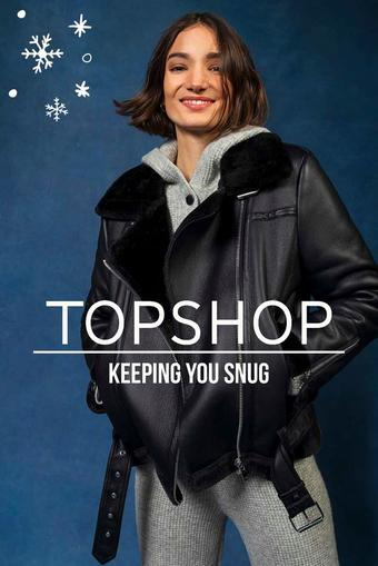 Topshop reclame folder (geldig t/m 15-02)