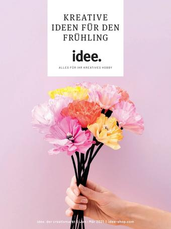 Idee Creativmarkt Prospekt (bis einschl. 31-03)