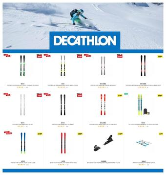 Decathlon reclame folder (geldig t/m 22-02)