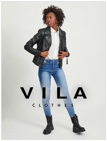 VILA Clothes reclame folder (geldig t/m 17-03)