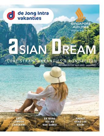 de Jong Intra Vakanties reclame folder (geldig t/m 01-04)