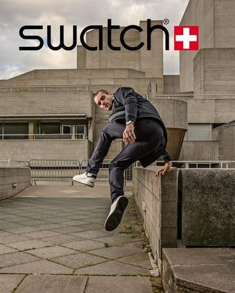 Swatch reclame folder (geldig t/m 16-03)