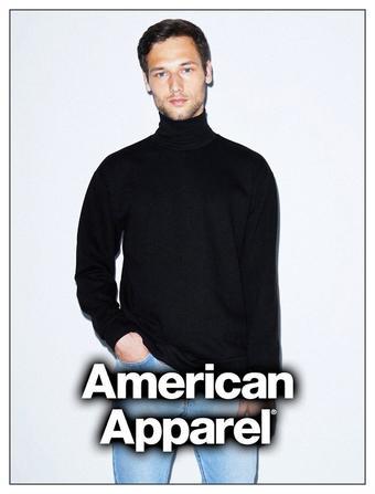 American Apparel reclame folder (geldig t/m 18-02)