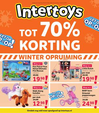 Intertoys reclame folder (geldig t/m 24-01)