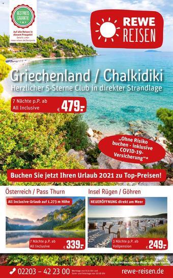 REWE Reisen Prospekt (bis einschl. 29-01)