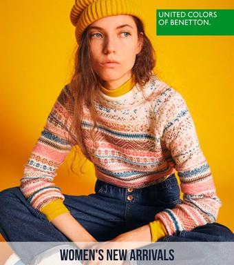 Benetton reclame folder (geldig t/m 17-02)