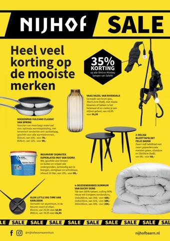Nijhof reclame folder (geldig t/m 24-01)