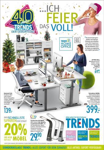 Trends Möbel Prospekt (bis einschl. 19-01)
