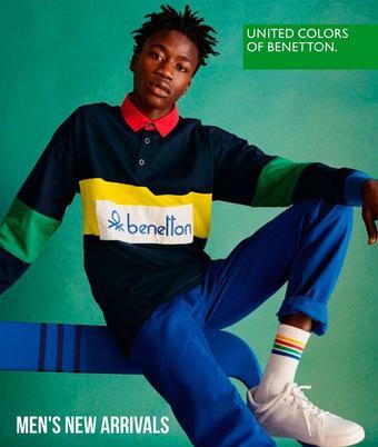 Benetton reclame folder (geldig t/m 28-02)