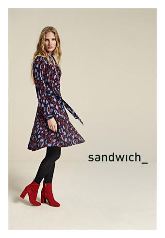 Sandwich Fashion reclame folder (geldig t/m 15-03)