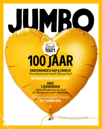 Jumbo reclame folder (geldig t/m 31-01)