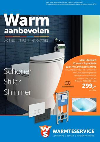 Warmteservice reclame folder (geldig t/m 31-03)
