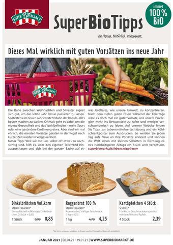 Superbiomarkt Prospekt (bis einschl. 19-01)