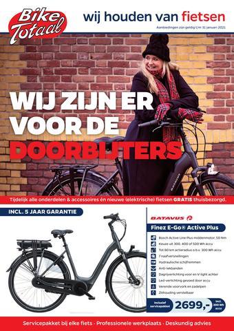 Bike Totaal reclame folder (geldig t/m 31-01)