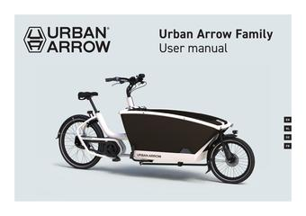 Urban Arrow reclame folder (geldig t/m 30-06)
