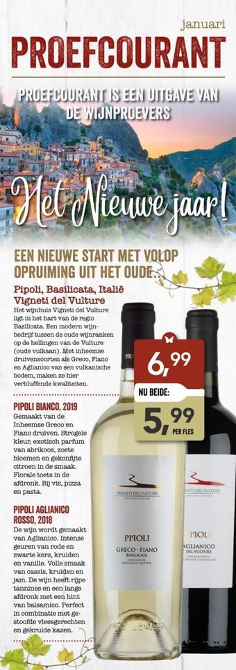 De Wijnproevers reclame folder (geldig t/m 31-01)