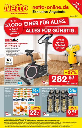 Netto Marken-Discount Prospekt (bis einschl. 31-01)