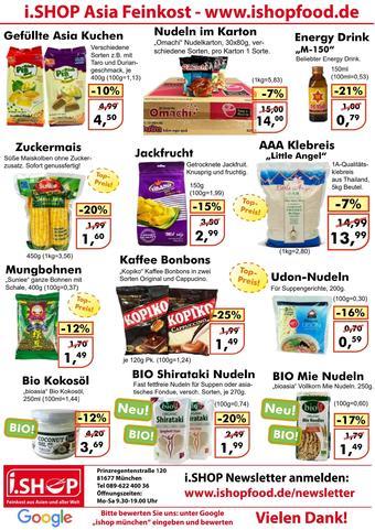 i.shop Prospekt (bis einschl. 31-01)