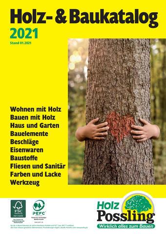 Holz Possling Prospekt (bis einschl. 31-01)
