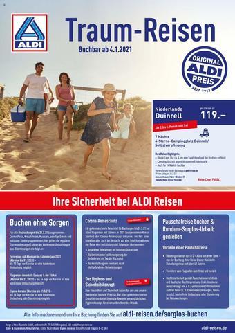 ALDI Nord Reisen Prospekt (bis einschl. 31-01)