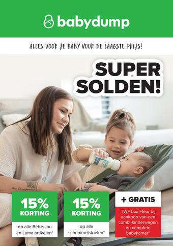 Baby-Dump reclame folder (geldig t/m 30-01)