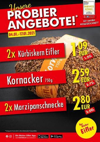 Bäcker Eifler Prospekt (bis einschl. 17-01)