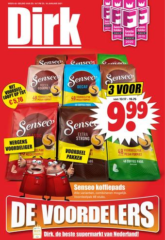 Dirk reclame folder (geldig t/m 16-01)
