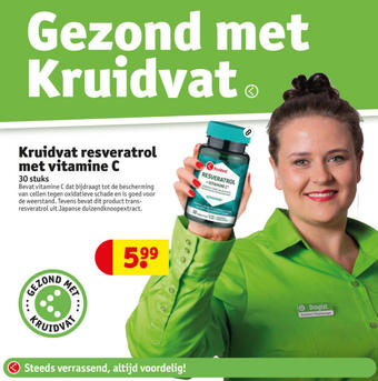 Kruidvat reclame folder (geldig t/m 17-01)