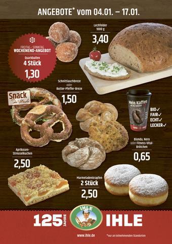 Landbäckerei Ihle Prospekt (bis einschl. 17-01)