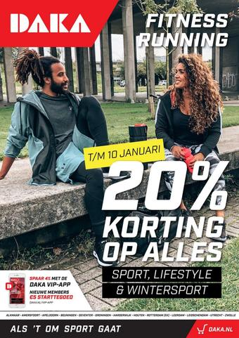 Daka Sport reclame folder (geldig t/m 17-01)