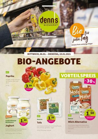 denn's Biomarkt Prospekt (bis einschl. 19-01)