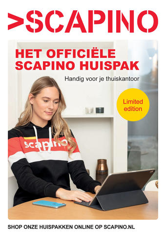 Scapino reclame folder (geldig t/m 24-01)