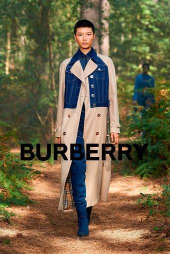 Burberry reclame folder (geldig t/m 08-03)