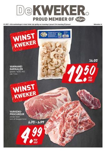 De Kweker reclame folder (geldig t/m 25-01)
