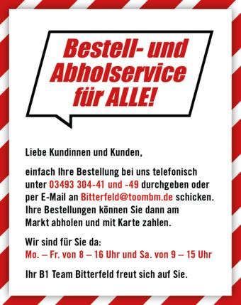 B1 Discount Baumarkt Prospekt (bis einschl. 31-01)