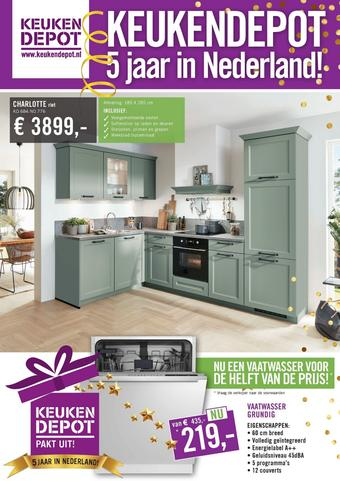 Keukendepot reclame folder (geldig t/m 17-01)