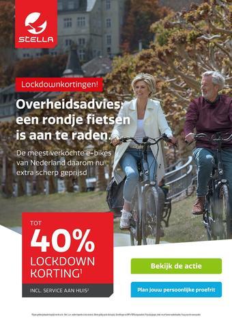 Stella fietsen reclame folder (geldig t/m 19-01)