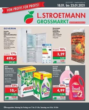 L. STROETMANN GROSSMARKT Prospekt (bis einschl. 23-01)