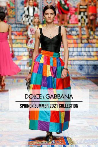 Dolce & Gabbana reclame folder (geldig t/m 10-03)