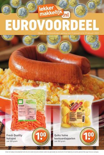 Troefmarkt reclame folder (geldig t/m 17-01)