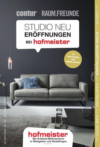 Hofmeister Prospekt (bis einschl. 31-01)