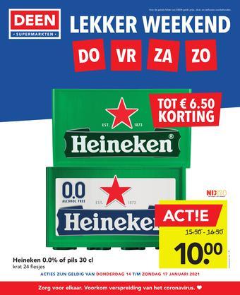 DEEN reclame folder (geldig t/m 17-01)