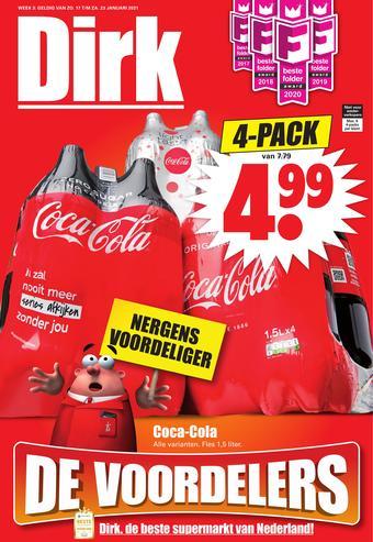 Dirk reclame folder (geldig t/m 23-01)